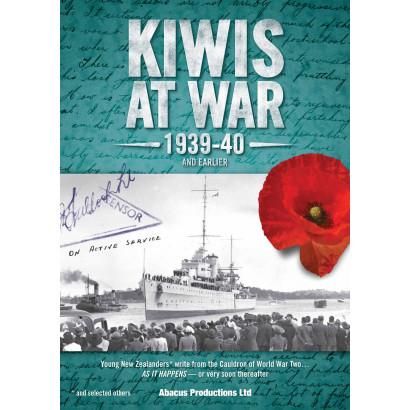 Kiwis At War 1939-40 Part One  Navy & Merch. Marine, by Martin Watson (editor) (New Zealand History)