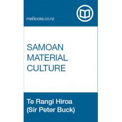 Samoan Material Culture