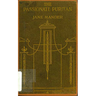 The Passionate Puritan, by Jane Mander (Fiction & Literature)