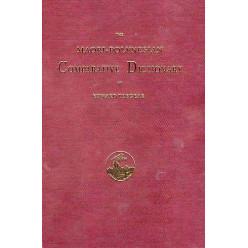 Maori-Polynesian Comparative Dictionary